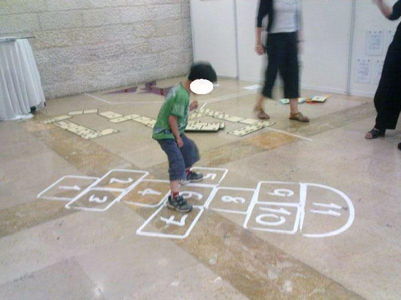 עיצוב משחקי רצפה - משחק קלס