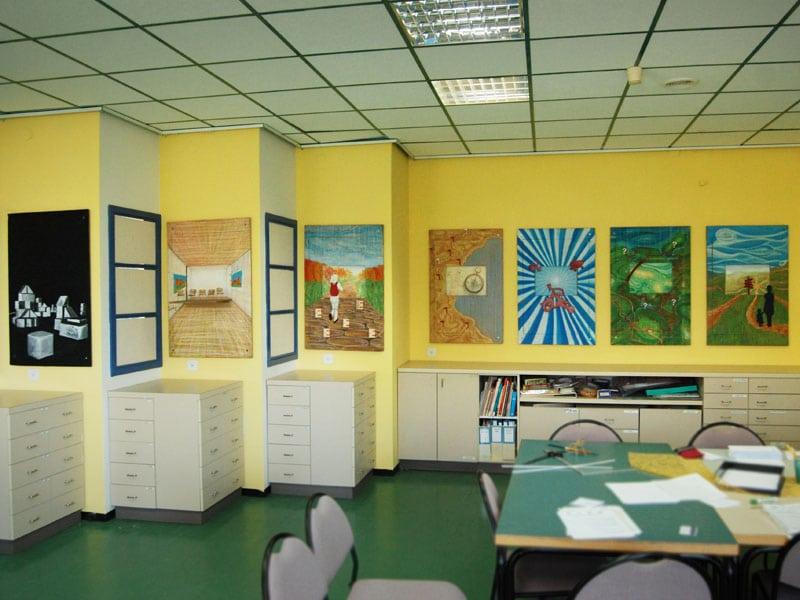 עיצוב מרחב מחלקת גני ילדים