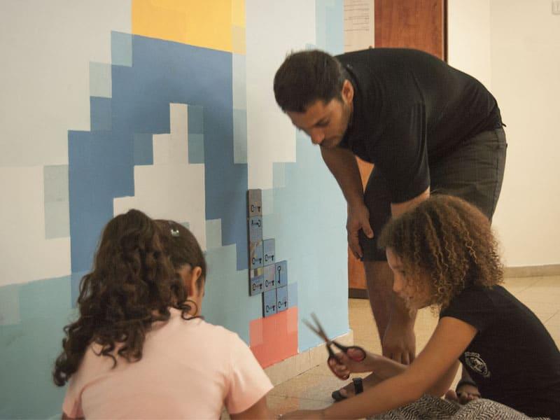 תהליך העבודה עם תלמידי בית ספר השלום