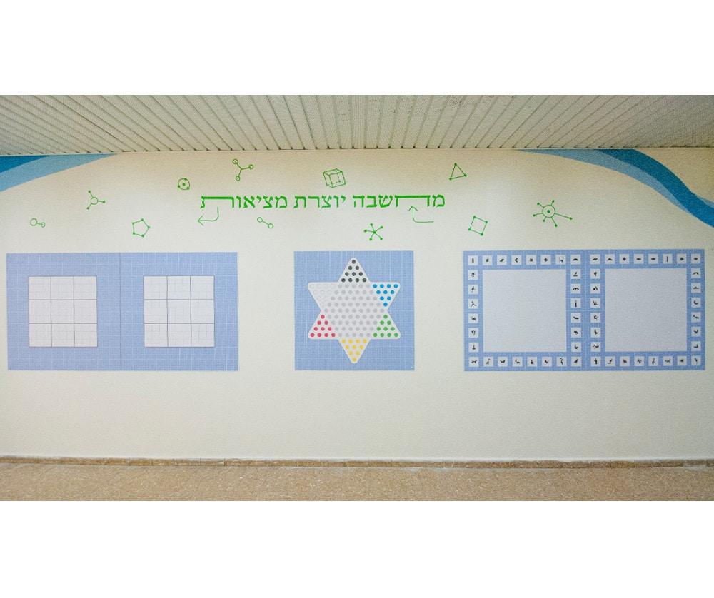 עיצוב קירות פעילים מלוחות משחק מגנטיים