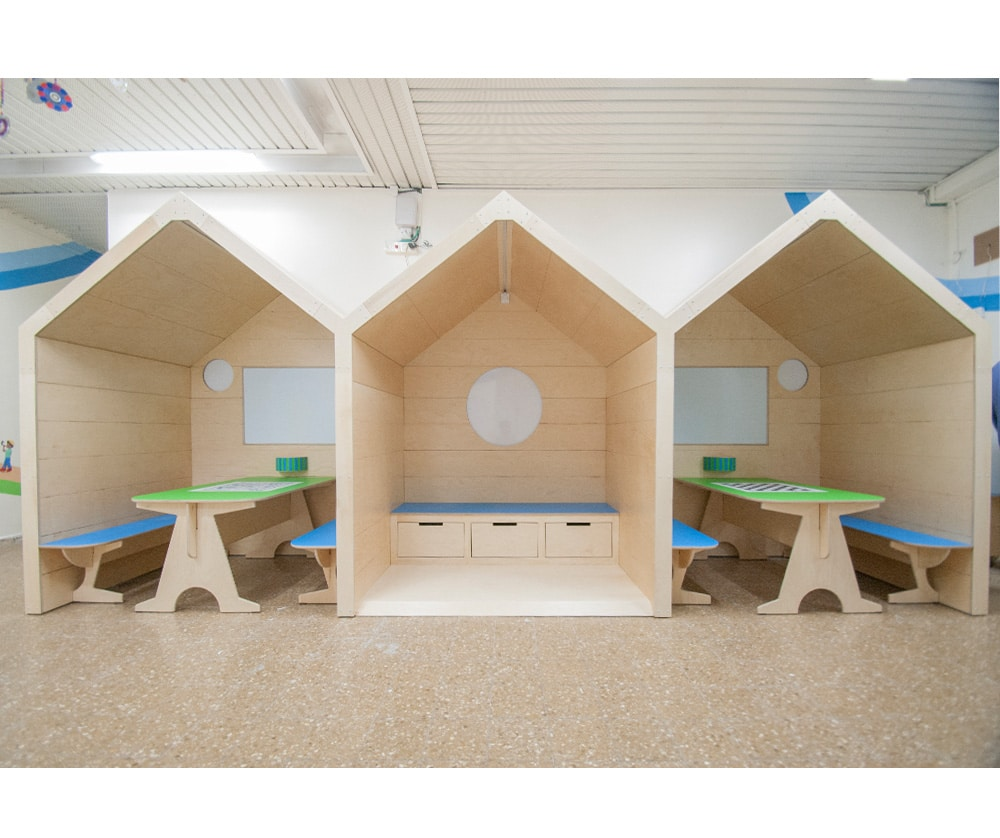 עיצוב ביתנים כוכב קטן