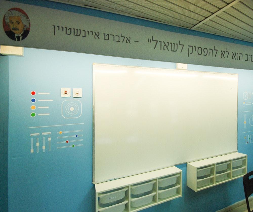 לוח קיר המורה בעיצוב לוח בקרה חללי