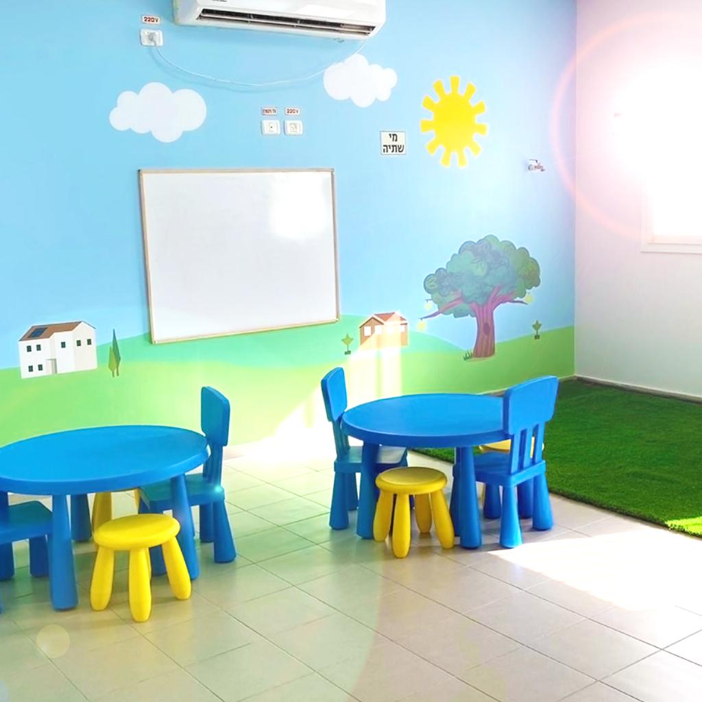 עיצוב מרחב מוגן לבית ספר יסודי ניצנים