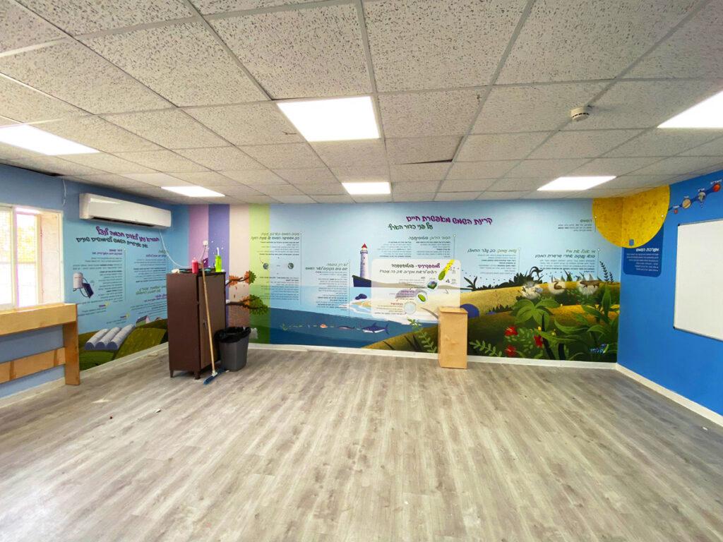 """מתנ""""ס אשכולות עיצוב מרחב לימודי מדעי בנושא מערכת השמש, פוטוסינתזה בצמחים, עונות השנה וקרינת השמש"""