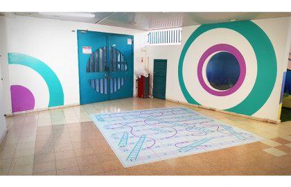 עיצוב חלל כיתות א' בבית הספר רמות אלון